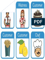 Restaurant Role Play Badges