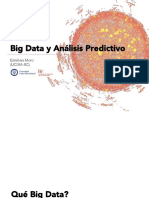 Big Data y Análisis Predictivo