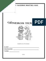 Gc3aaneros Textuais e Atividades Ensino Fundamental i
