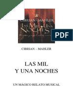 (Cibrian; Mahler) Mil y Una Noches, Las (El Musical)