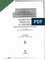Manuel Seco - Gramática Esencial Del Español