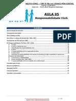 AULA 05 - Atos Ilícitos e Responsabilidade Civil