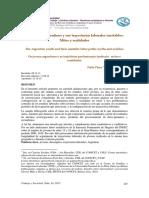 Los jóvenes argentinos y sus trayectorias laborales inestables