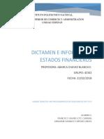 Dictamen e Informe