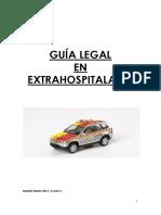 Guía legal en extrahospitalaria