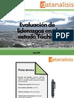 Evaluacioěn de Liderazgos en el estado Tachira datanalisis