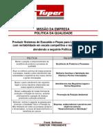 Tabela MW Industria - Janeiro-13