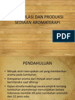 5-Formulasi Dan Produksi Sediaan Aromaterapi