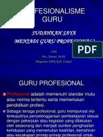 281938245 Profesionalisme Guru Lengkap Revisi Ppt