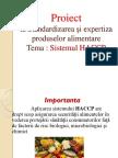 sistemul HACCP