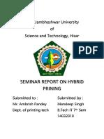 Hybrid Printing