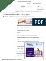 Prueba Ámbar en Cuarto y Sin Su Amigo - Documents