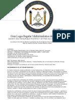 Alto Consejo Masonico de Venezuela