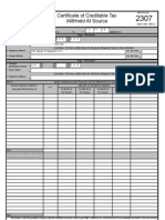BIR Form 2316 and 1700 Template | Withholding Tax | Taxes