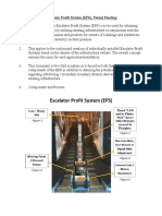 Escalator Profit System (EPS) Proposal