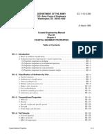 III-1 Coastal Sediment Properties