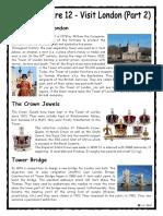 English Culture Visit London 2