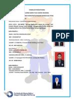 Formulir Pendaftaran Tim Bio Worry