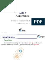 Capítulo 25 Halliday - Capacitores e Dielétricos