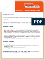 Advanced Derivatives Trading Strategies