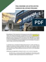 Laudo Arbitral Describe Los Actos Ilícitos Repsol en Agravio Del Estado Peruano