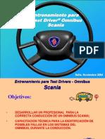 Test Driver Clientes (Scania)