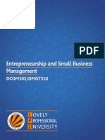 LPU - Entrepreneurship and Small Business Management