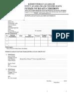 Formulir Pendaftaran PDDIKTI-1