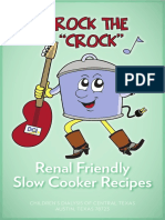 Rock the Crock Cookbook (Renal Friendly Recipes)
