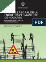 Informe Laboral Gran Rosario y Alglomerado Santa Fe