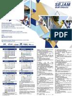 Calendário Acadêmico Univale 2018