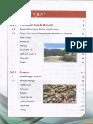 Buku Teks Kssm Ekonomi Tingkatan 4
