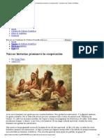 Narrar Historias Promueve La Cooperación - Cuaderno de Cultura Científica