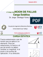 Prevencion de Fallas Carga de Estatica