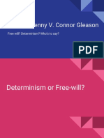 free will vs