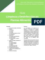 Limpieza y Desinfección en Plantas Alimenticias Indiquimica