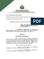 NOVA Lei 10.402 - 2016 - Bombeiros