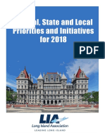 Long Island Association's Federal, State and Local Priorities and Initiatives for 2018