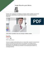 5 Libros de Estrategia Directiva Para Líderes