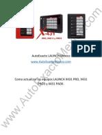 AutoExacto LAUNCH Mexico Actualizacion LAUNCH PRO, PRO3 y PAD2