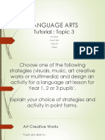 Tutorial 3 - Creative Artworks