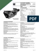 Motores Auxiliares Marinos Cat Mma c18 Lehm8147 00