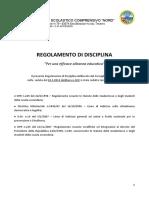 Regolamento Disciplina 2014