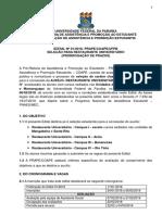 Edital 01 2018 Restaurante Universitario Todos Os Campi Prorrogado