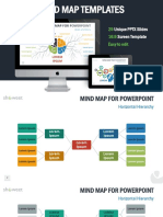 Mind Map Templates Showeet(Widescreen)