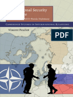 Cambridge Studies in International Relations 113 Vincent Pouliot International Security in Practice the Politics of NATO Russia Diplomacy Cambridge University Press 2010 (1)