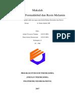 (Kelompok 12) Resin Fenol Formaldehid Dan Resin Melamin