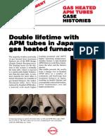 Apm Tubes Gas Heat Treatment Case History