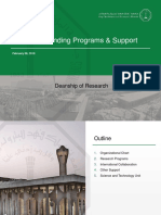 Deanship of Research
