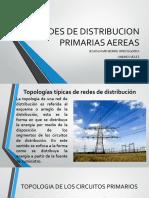Redes de Distribucion Primarias Aereas